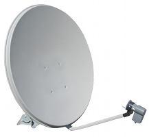 75 cm offset satellite dish image