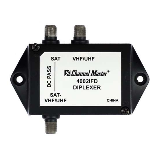 Channel Master 4002IFD low loss diplexer image