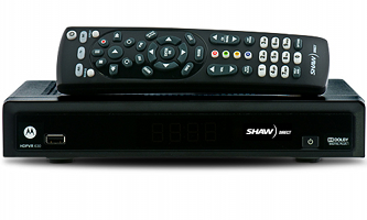Shaw Direct HDVR 830 HDPVR satellite receiver image