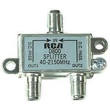 2 Way splitter (satellite rated) image